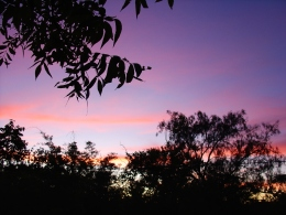 Sunset at Zeekoegat Pretoria
