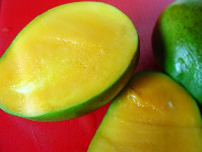 Mango cut through