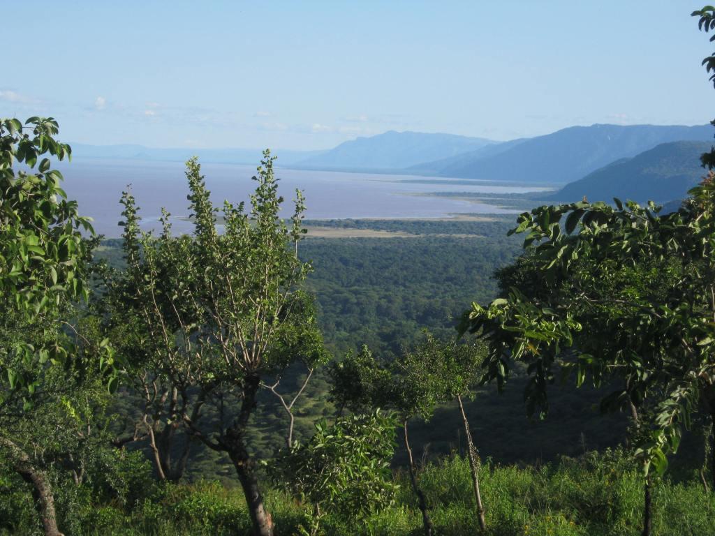Lake Manyara from the hotel room