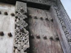 A mathematician's door