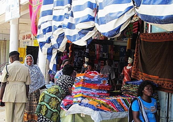 Kanga en Kitenge shop