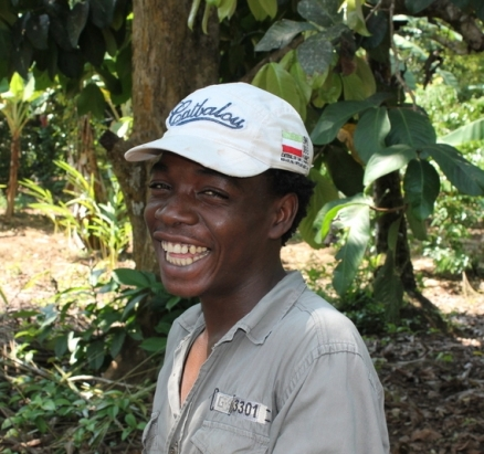 Young man on Zanzibar Spice Farm