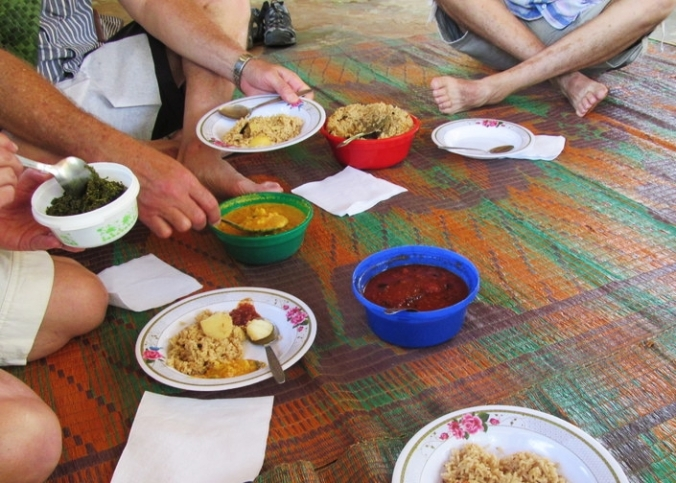 Tradtionlal Swahili meal