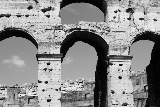 Rome 40 B&W